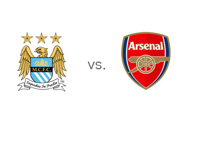 Matchday - Manchester City FC vs. Arsenal FC - Emirates Stadium - Matchup - English Premier League - Jan 18, 2015 - Team Logos / Badges / Crests - Odds