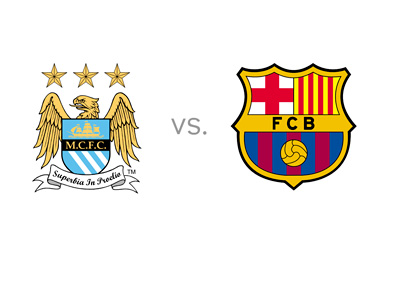 Manchester City vs. Barcelona - Preview - Matchup - Head to Head - Team Logos / Crests / Badges
