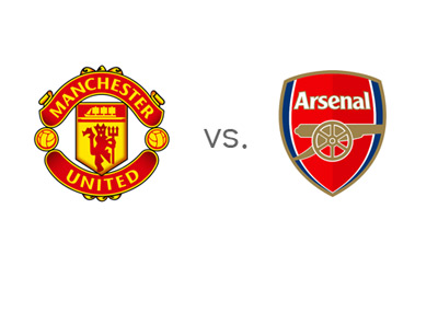 Manchester United vs. Arsenal - English Premier League - EPL - Team Logos - Matchup