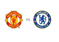 Manchester United vs. Chelsea FC - Matchup and Team Logos