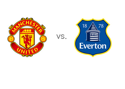 Manchester United vs. Everton - Team Logos - Matchup - Head to Head