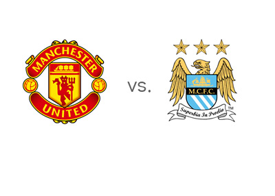 EPL Matchup - Manchester United vs. Man City - Team Logos / Crests
