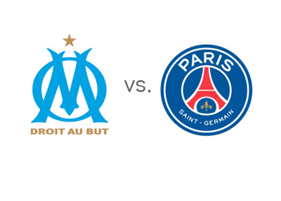 Olimpique de Marseille vs. Paris Saint-Germain - Football Matchup - Betting Odds - Team Logos / Badges / Crests