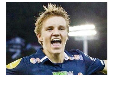 Martin Odegaard - Stromsgodset - Norway - Goal Celebration