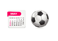 Football Games in the Month of May 2013