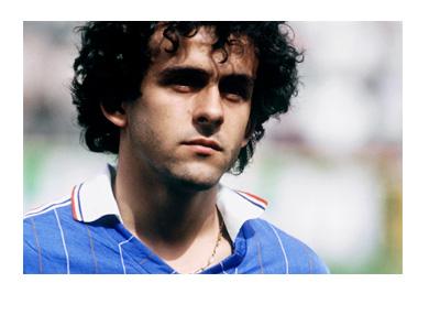 Michel Platini - Vintage photo - France National Team