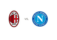 AC Milan vs. Napoli - Matchup and Team logos