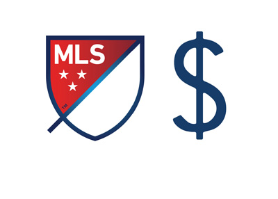 Major League Soccer logo - 2016 salaries