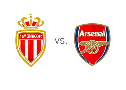 AC Monaco FC vs. Arsenal FC - Matchup - Preview - Odds - Team Logos / Badges / Crests - Head to Head