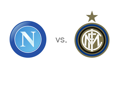 Napoli vs. Inter - Serie A Matchup - Team Logos