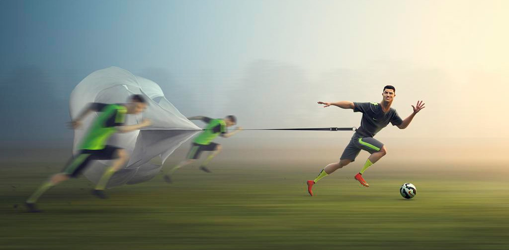Nike 3D animation campaign - Every Day. Every Play. - Featuring: Cristiano Ronaldo in Training