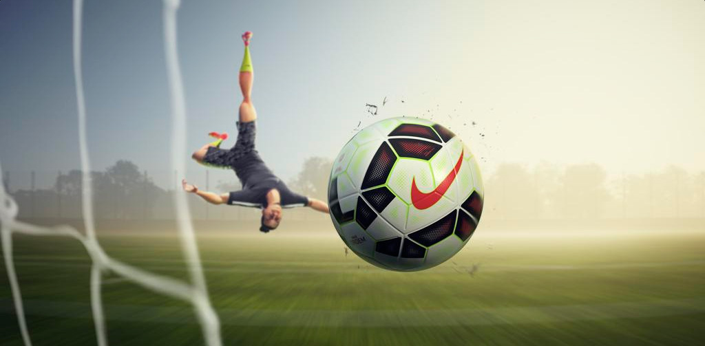 Nike 3D animation campaign - Every Day. Every Play. - Featuring: Zlatan Ibrahimovic doing an overhead kick