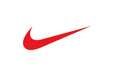 Nike swoosh logo - Red colour