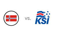 Team Crests - Norway vs. Iceland