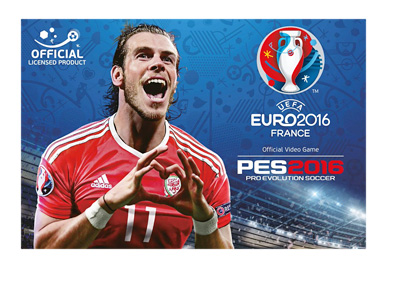 Wales player Gareth Bale is on the cover of the newly announced PES 2016 Euro France video game