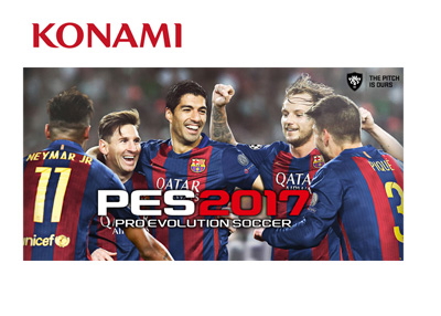 Cover of Pro Evolution Soccer (PES) 2017 - Featuring Barcelona FC