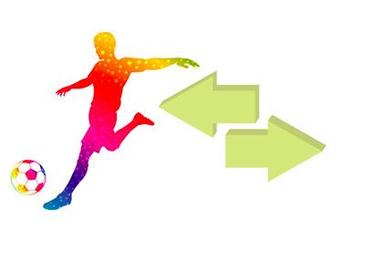 Football Player Transfer - Illustration