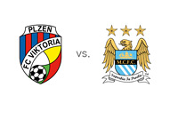 Viktoria Plzen vs. Manchester City - The UEFA Champions League Matchup - Team Crests