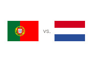 Portugal vs. Netherlands - Matchup and Country Flags