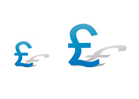 Transfer Fee Records Growing - Pound Symbol - Illustration