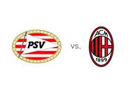 PSV Eindhoven vs. AC Milan - Matchup and Team Logos