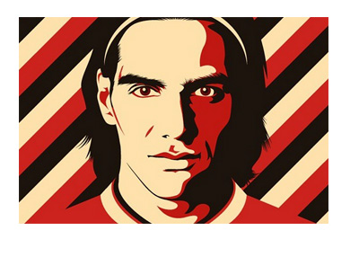 Radamel Falcao - Illustration - @falcao - Instagram Account