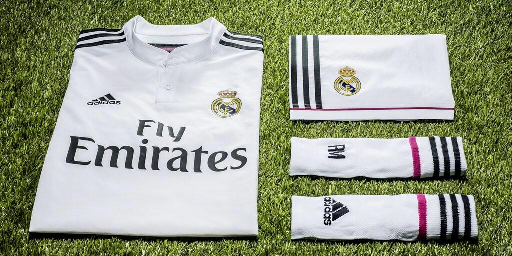 Real Madrid Home Kit - 2014/15 Season - Adidas