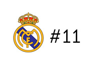 Real Madrid Number Eleven
