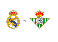 Real Madrid vs. Betis - Matchup and team logos