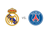 Real Madrid vs. Paris Saint Germain - New Logos