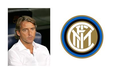 Inter Milan Logo - Roberto Mancini - Team Manager 2004 - 2008 - Photo