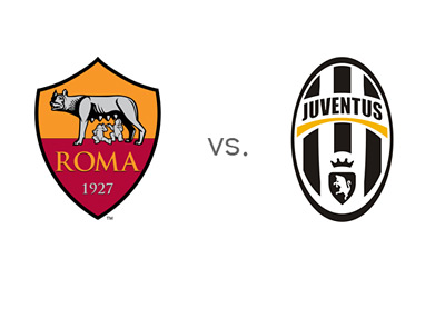 Coppa Italia Matchup - AS Roma vs. Juventus - Team Logos