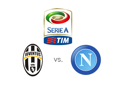 Italian Serie A - Juventus vs. Napoli - League logo, team crests, odds and preview