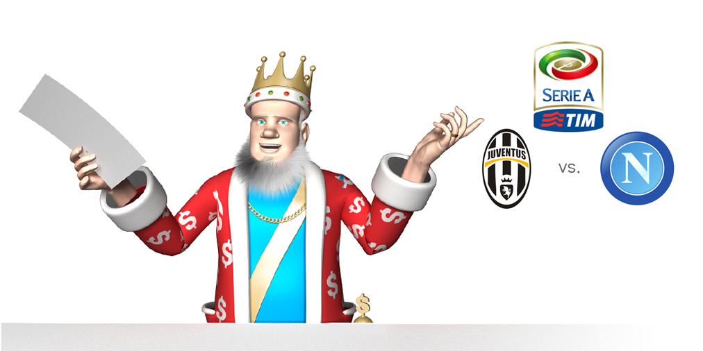 The Football King presents: Juventus vs. Napoli - Italian Serie A potential title decider 2015/16