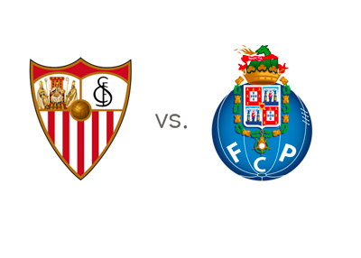Sevilla vs. Porto - Matchup - Team Logos / Badges / Crests