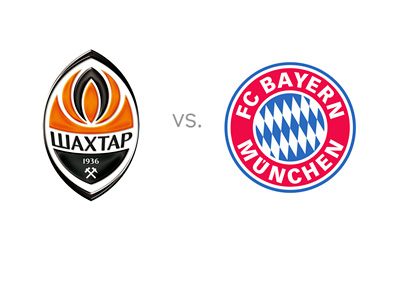 Shakhtar Donetsk vs. Bayern Munich - Matchup - Odds - Preview - Team Logos - Badges - Crests - Head to Head