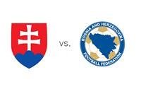Slovakia vs. Bosnia-Herzegovina - National Team Crests - Matchup