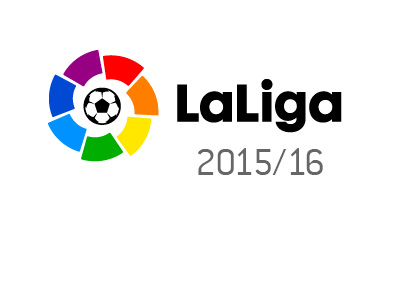 La Liga logo - no sponsor - 2015-16 season - Spain
