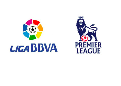 Spanish La Liga and English Premier League (EPL) Logos