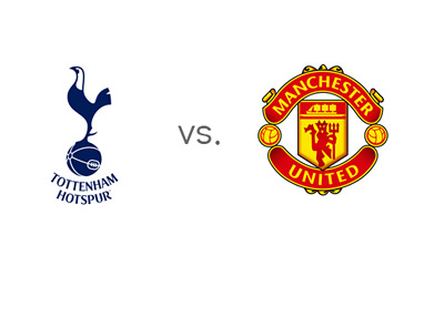 Tottenham Hotspur vs. Manchester United - EPL Match - Team Logos