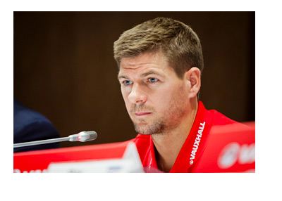Steven Gerrard - Retirement - Microphone - Interview