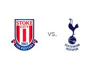 Stoke vs. Tottenham - English Premier League Matchup - Team Logos