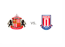 Sunderland vs. Stoke City - Matchup and Team Logos