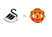 Swansea City vs. Manchester United - Matchup and Team Logos