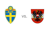 Sweden vs. Austria - FIFA World Cup Qualifiers - Matchup - Team Crests