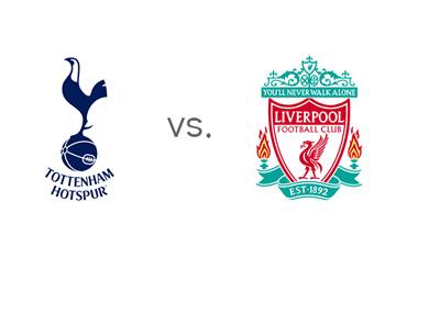EPL Matchup - Tottenham Hotspur vs. Liverpool - Team Logos