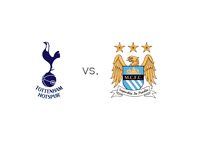 Tottenham Hotspur vs. Manchester City - Matchup and Team Logos