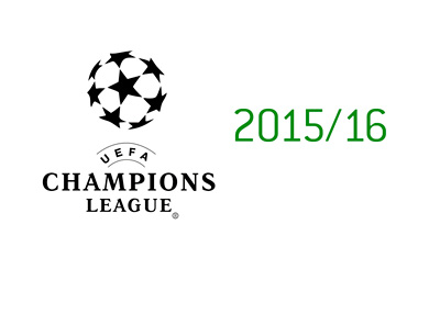 UEFA Champions League (UCL) 2015/16 Season - Logo and Year