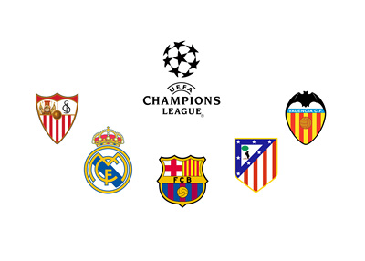 Five Spanish clubs in the 2015/16 UEFA Champions League - New record
