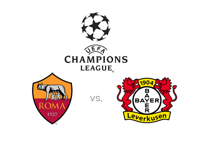 Champions League matchup between AS Roma and Bayer Leverkusen - Preview